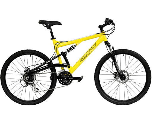 Gravity FSX 1.0 Dual Suspension Mtb