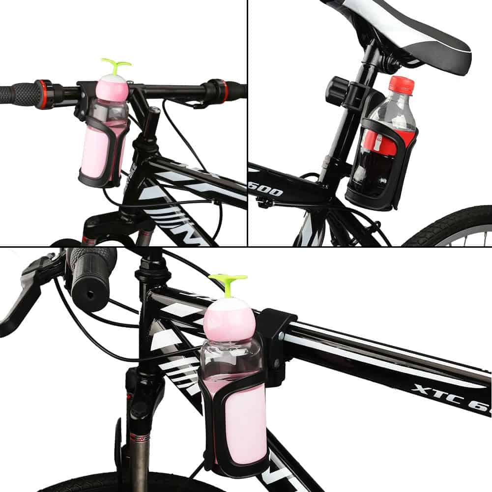 Accmor 360 Degrees Rotation bike Cup Holder