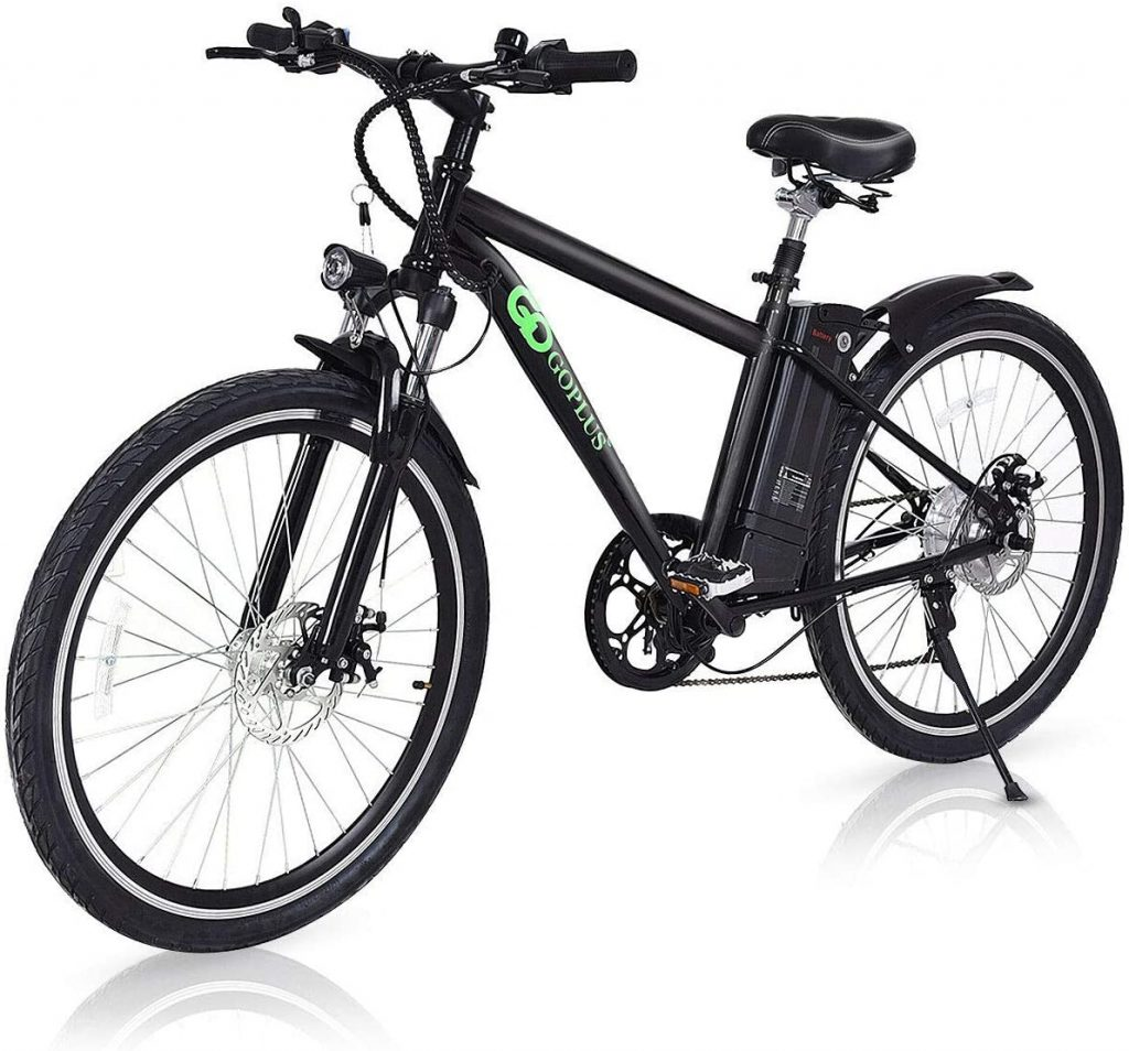 "Goplus 26"" 250W Electric Bicycle Mountain Bike E-Bike"