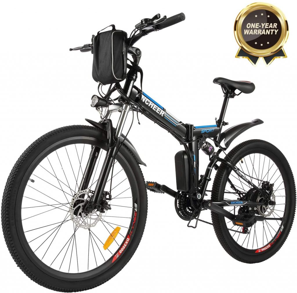 ANCHEER-EB006 Folding Electric Bike