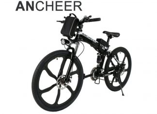 Ancheer Folding Electric Mountain Bike Review