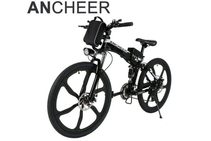 Ancheer Folding Electric Mountain Bike Review