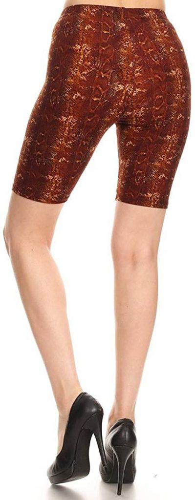 Leggings Depot Women's Fashion Biker Shorts