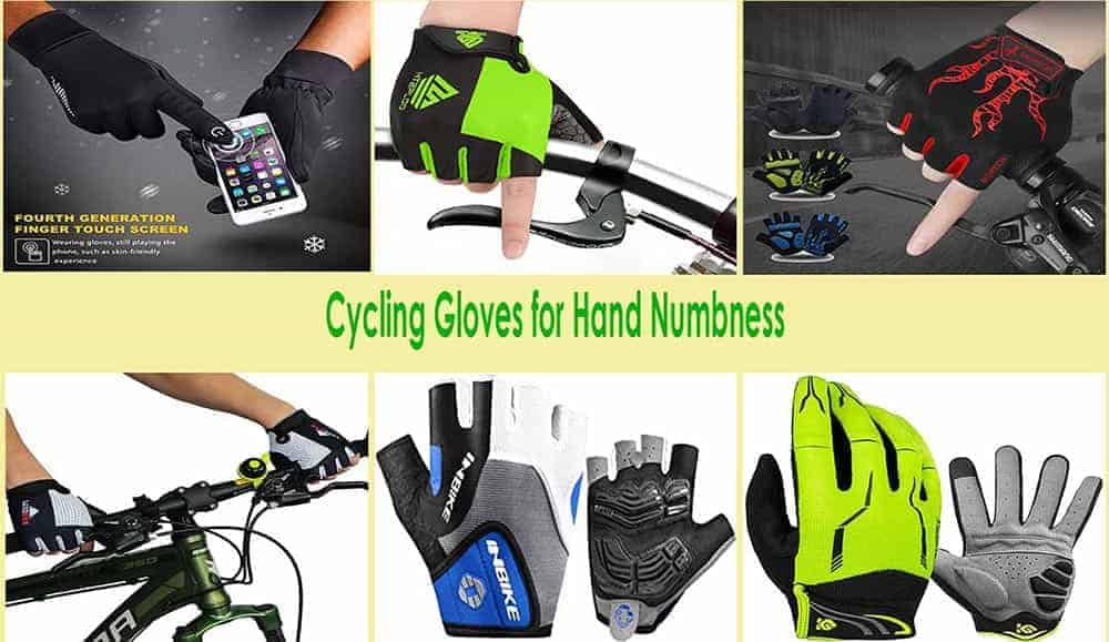 Best Cycling Gloves for Hand Numbness