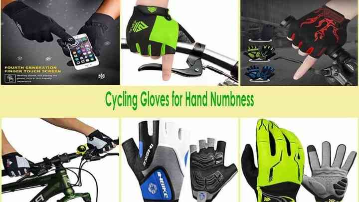 Cycling Gloves for Hand Numbness