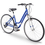 3.	700c Royce Union RMY Women's 21-Speed Hybrid Comfort Bike