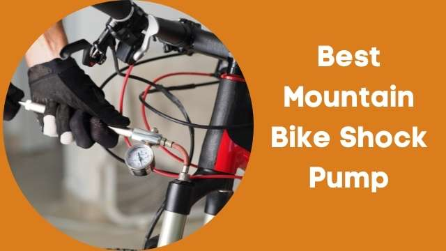 Best mountain bike shock pump